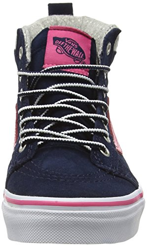 Vans Unisex Kids' Sk8-Hi MTE Hi-Top Sneakers Blue (Mte Navy/Pink) buy online with paypal buy cheap low shipping buy cheap shop free shipping sale pYliaZi