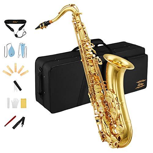 Eastar TS-Ⅱ Student Tenor Saxophone Sax B Flat Gold Lacquer
