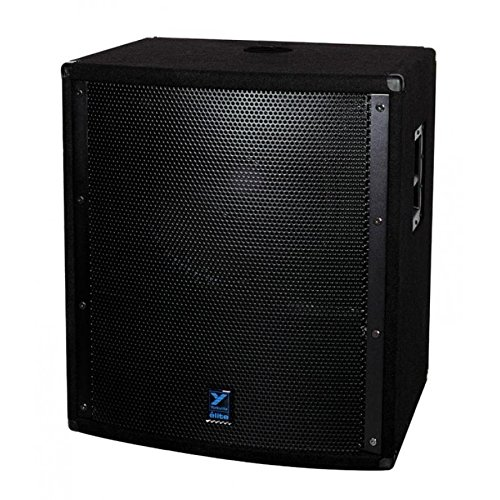 Yorkville LS801 18'' 1500W Active Subwoofer Elite Black Paint by Yorkville