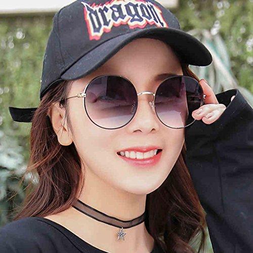 Sol polarizadas Femeninas de de Delgadas Gafas Coreanas Gafas Color DT 3 Gafas 2 Sol tqSE00