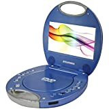 SYLVANIA SDVD7046-BLUE 7'''' Portable DVD Players with Integrated Handle (Blue) Computers, Electronics, Office Supplies, Computing