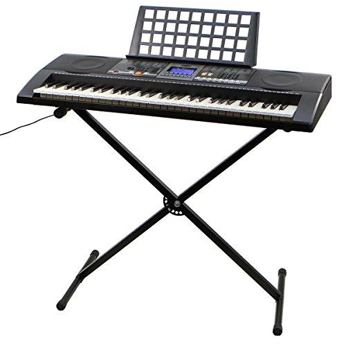 xtremepowerus-61-key-electronic-music-keyboard-electronic-piano-w-stand-lcd-display-screen