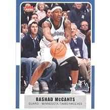 2007 /08 Fleer NBA Basketball Card # 131 Rashad McCants Timberwolves Mint Condition