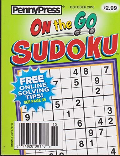 Penny Press On The Go Sudoku Magazine October 2018 ()
