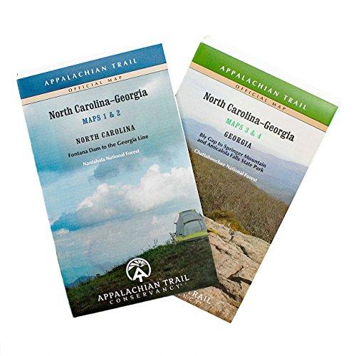 Official North Carolina and Georgia Appalachian Trail Maps by Appalachian Trail Conservancy