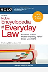 Nolo's Encyclopedia of Everyday Law: Answers to Your Most Frequently Asked Legal Questions, 8th Edition Paperback