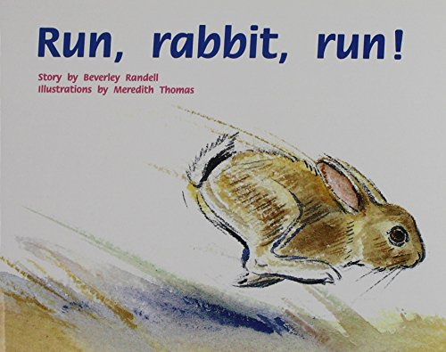 Rigby PM Plus: Individual Student Edition Red (Levels 3-5) Run, Rabbit, Run!