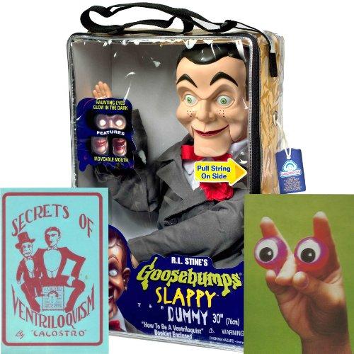 Bundle 3 Items Slappy From Goosebumps Ventriloquist
