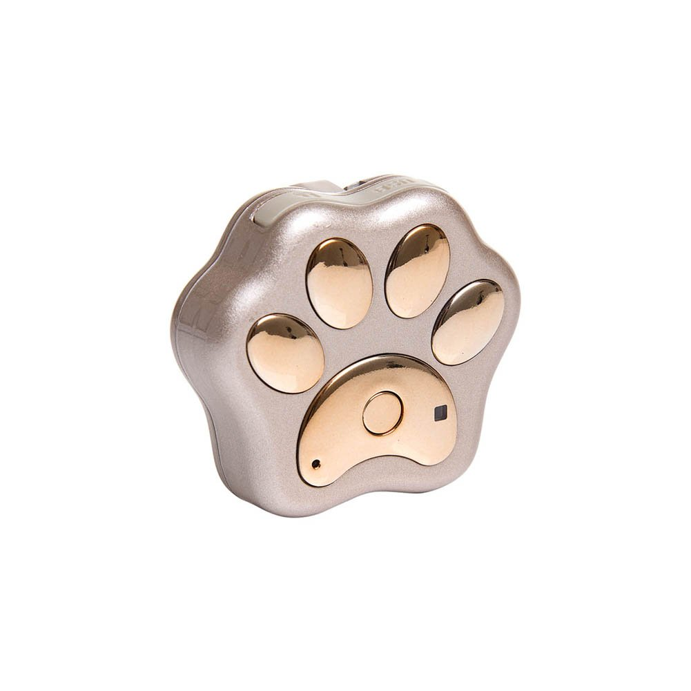 Mini animal de compagnie GPS Tracker, nano Smart Wi-Fi Bluetooth Tracking Device chiens chats Finder localisateur anti-Lost emplacement dispositif Track, imperméable/Track lecture/Real-Time tracking/moniteur vocal/clôture de sécurité compatible (Noir) PerG