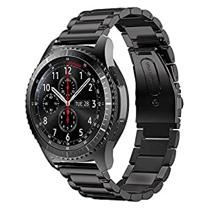 PINHEN Correa de Repuesto para Reloj Huawei Watch GT - 22mm Correa de Reloj de Acero Inoxidable Correa de liberación rápida para Huawei Watch GT2 ...
