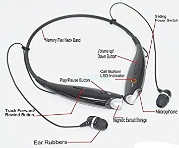 513azNIzKPL._SX355_ lg tone hsb 730 wireless stereo bluetooth headset amazon in wire diagram on headphones with mic at fashall.co