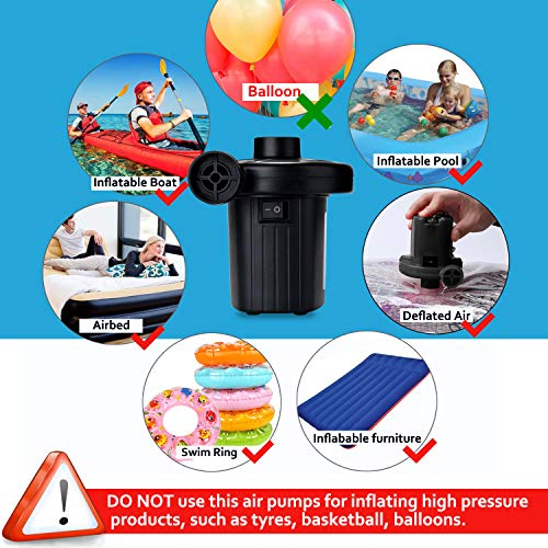 Buy 12 volt air pump for inflatables