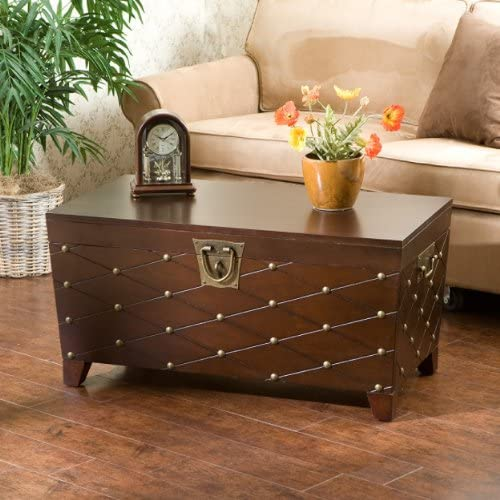 SEI Furniture Nailhead Storage Trunk