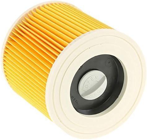 Filtro de cartucho de gran calidad para Karcher A2534PT A2554ME A2604 en seco y mojado aspiradoras: Amazon.es: Hogar