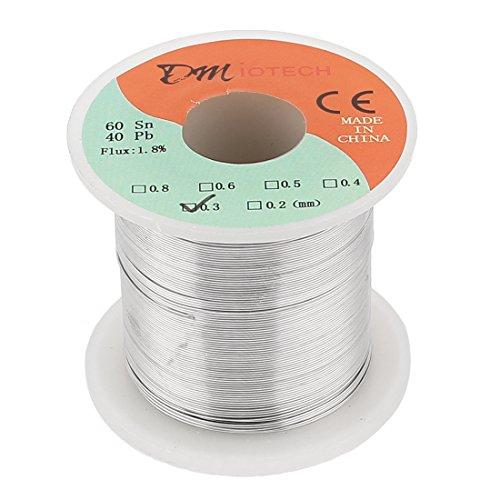 DMiotech 0.3mm 200G 60/40 Rosin Core Tin Lead Roll Soldering Solder Wire - Tin Lead Solder