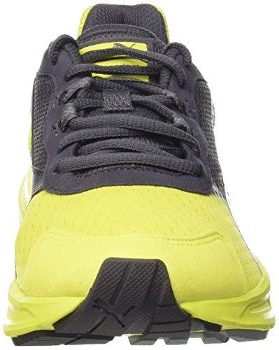 PUMA Descendant v3 - Zapatillas de running para hombre Giallo (Sulphur Spring/Periscope)
