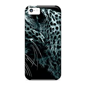 Awesome Design 3d Panther Hard Cases Covers For Iphone 5c