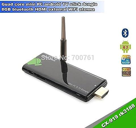 Núcleo MU Rk3188 2GB / 8GB CX-919 Quad Mini PC Android 4.2.2 ...