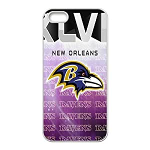 Baltimore Ravens NFL Logo Phone Case for iPhone 5S Case