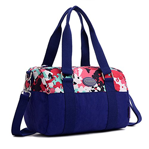 Tiny-Cute wasserabweisend Nylon Handtasche Cross Body Reise Schultertasche für Teen Mädchen & Frauen Camouflage