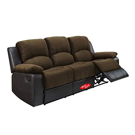 Amazon.com: Bliss Brands - Juego de sofá reclinable, 3 ...