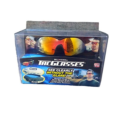 TAC GLASSES by Bell+Howell Sports Polarized Sunglasses for Men/Women, Military-Inspired As Seen On - As Tac Sunglasses Tv On Seen