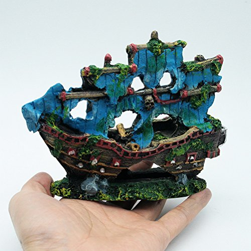 Compare price to pirate ship fish tank for Aquarium decoration ship