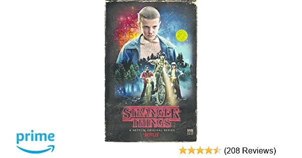 Amazon.com: Stranger Things Season 1 4-disc DVD / Blu-Ray ...