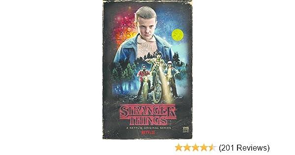 Amazon com: Stranger Things Season 1 4-disc DVD / Blu-Ray
