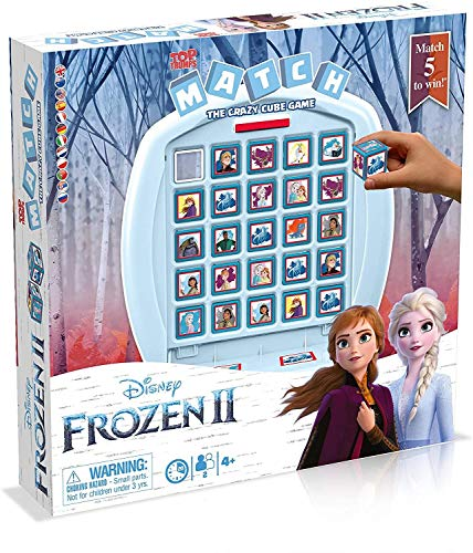 Frozen 2 Top Trumps Match Board Game, Multi