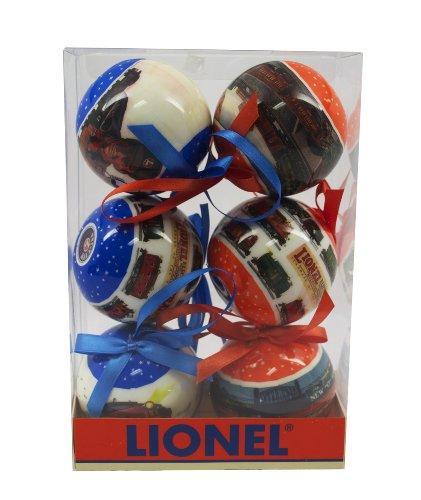 (Lionel Ornaments, Set of 6)