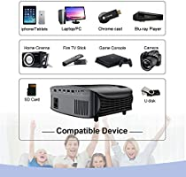 Amazon.com: Movie Projector - Artlii 4000 Lux Full HD 1080P ...