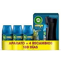 Air Wick Ambientador Freshmatic Fragancia Oasis, Aparato + 4 recambios, Pack de 1