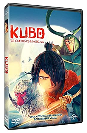 Image result for kubo y las cuerdas magicas dvd