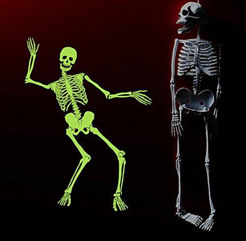 Dragon Honor Happy Halloween Spooky Skull Skeleton Wall Decals Creative Luminous Stickers Halloween Decorations Indoor For Halloween Party