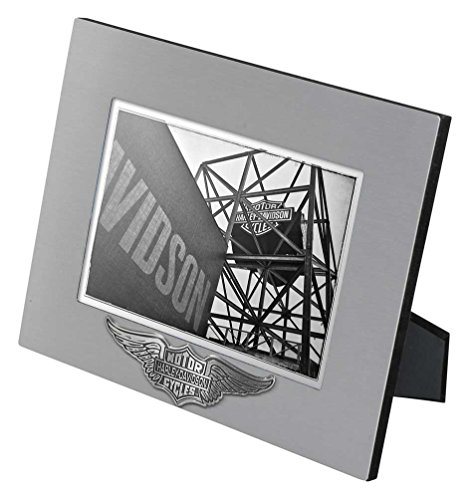 Harley-Davidson Core Winged Bar & Shield Picture Frame - 5x7 Photo HDX-99107