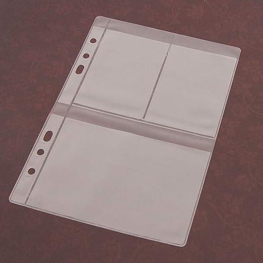 Ahomi DIY Scrapbooking Stanzschablone Schablone Kunstleder Aufbewahrung B/ücheretui Sammlungen Transparent Siegelschablone Halter 1 Grid