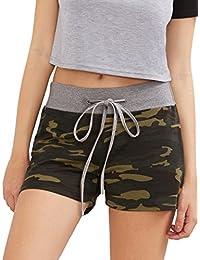Camouflage Women's Workout Yoga Hot Shorts