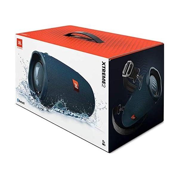 JBL Xtreme 2 - enceinte Bluetooth Portable - Waterproof Ipx7 - Autonomie 15 Hrs & Port Usb - Sangle de Transport Incluse - Bleu 7