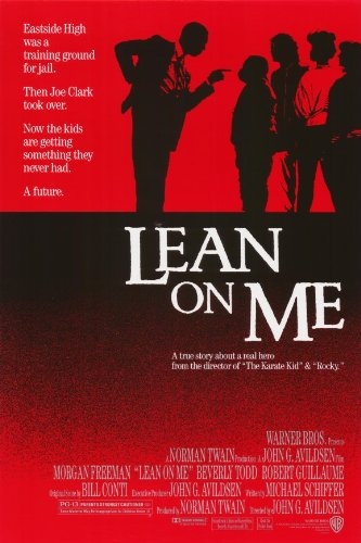 amazon com lean on me 11 x 17 movie poster style a lithographic