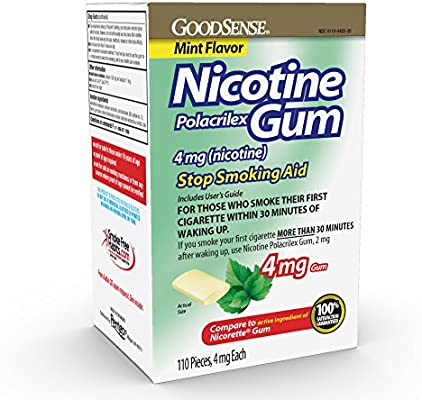 GoodSense Nicotine Polacrilex Gum, Mint, 110 Count, 4mg - 10137218 , B008LXE7YI , 285_B008LXE7YI , 1002272 , GoodSense-Nicotine-Polacrilex-Gum-Mint-110-Count-4mg-285_B008LXE7YI , fado.vn , GoodSense Nicotine Polacrilex Gum, Mint, 110 Count, 4mg