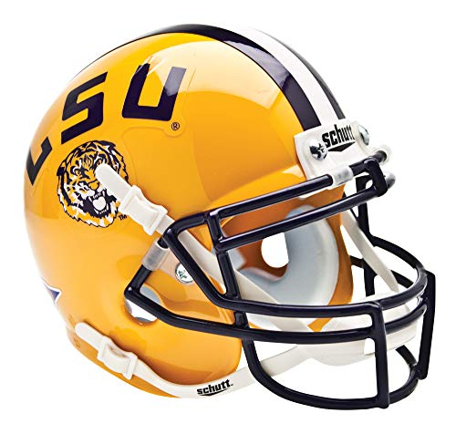 NCAA LSU Collectible Mini Football Helmet