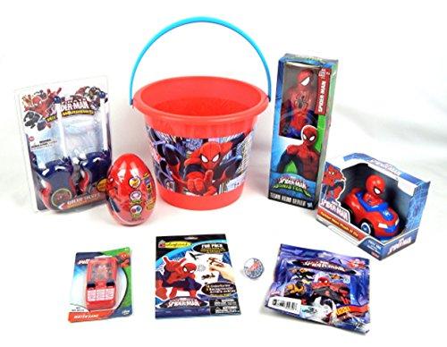 Spider Man Classics Easter/Birthday Titan Hero Series Action Figure Toy 9pc Bundle Gift Set