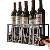 MKZ Products 3-in-ONE Wall Mounted Wine Rack | Wine Bottle & Glass Holder | Cork Storage | Storage Rack | Home & Kitchen DÃcor