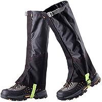 Outdoor Waterproof Camping Hiking Snow Legging Gaiters for Outdoor Skiing Walking Trekking Boot Shoes Legging Wrap Leg Gaiters Protect Equipment