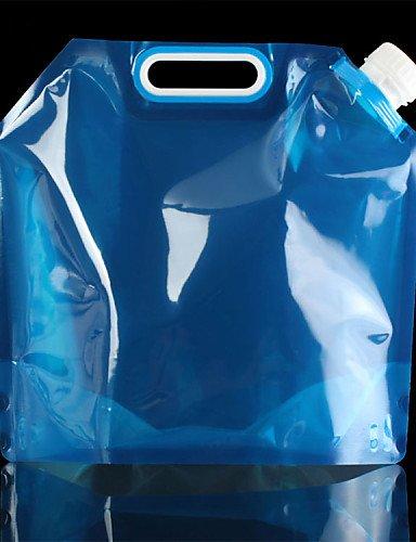 HWB/ 5l im Freien faltbare zusammenklappbare Trinkwasserbeutel Auto Wasserbehälter für den Außenlager wandern Picknick Grill