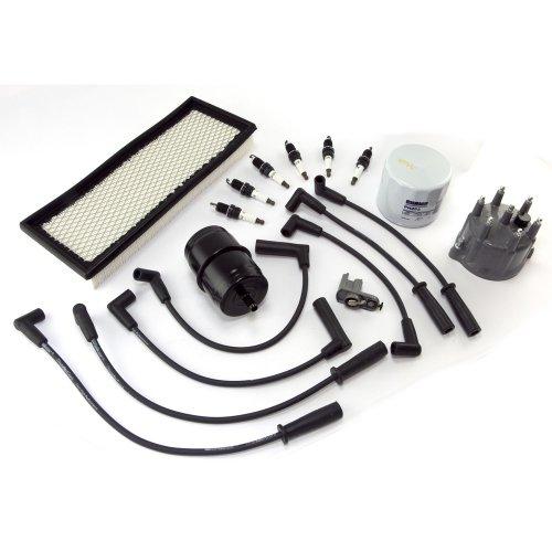 1991-1993 Jeep Wrangler Direct OE Ignition Tune Up Kit 4.0L 91-93 Jeep Wrangler (YJ)