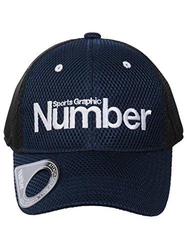 (ナンバー) Number メッシュキャップ FREE ネイビー/ブラック