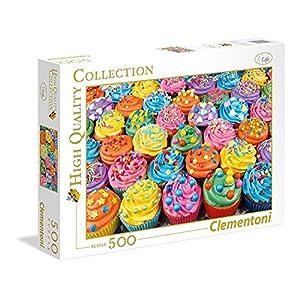 Clementoni Collection Puzzle Colorful Cupcakes 500 Pezzi 35057