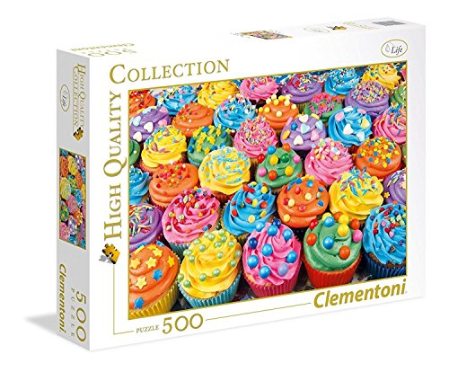 Clementoni Collection Puzzle Colorful Cupcakes 500 Pezzi 35057